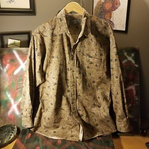 Orvis Fly Fishing Heavy shirt large